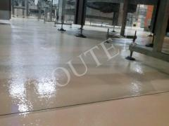 The bases of floors concrete and
