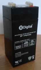 Акб акумулятор батарея 4v 4ah (4в 4ач) X-Digital