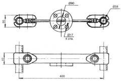 Распорка специальная РС-6-400