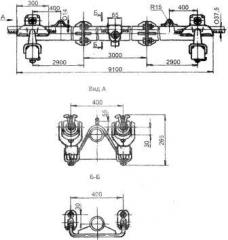 Распорка глухая специальная 2РС-4-6