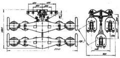 Подвес шестироликовый ЗП6Р-30-2А
