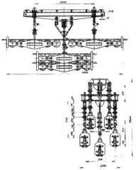 Подвес шестироликовый 5П6Р-150-1
