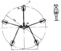 Распорка специальная 5РС-2-450 и 5РС-3-450