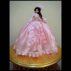 Casket, Doll casket Adele, handwork, production,