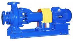 Pumps horizontal X, XM, XO, XE (Chemical)