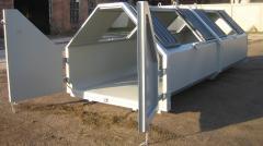 Produsent av krokcontainere fra 1 of m3 til 43 m3