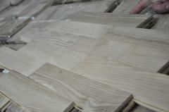 Boards are parquet oak