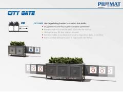 Sliding automatic barrier of PILOMAT CITY GATE