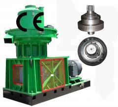 Granulators for production pellet under the order