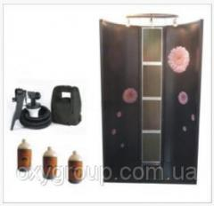 Sunbed for salons and for private use (a house