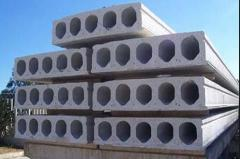 Multihollow reinforced concrete plates of