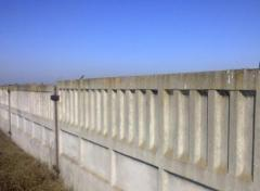 Плиты канальные заборные