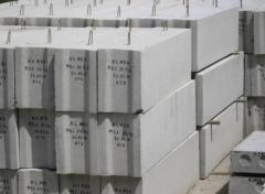 Blocks concrete for cellar walls