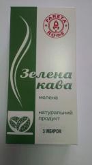 Зелёный кофе с натуральными добавками