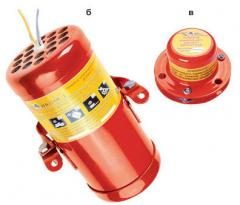 Приборы и системы пожаротушения, Установки