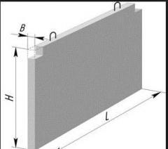 Железобетонные панели для насосных станций (ПС)