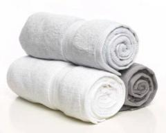 The towels pressed from the producer
