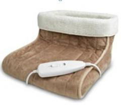 Electric hot-water bottle for legs