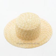 Straw hats of a boater