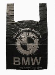 BMW package undershirt polyethylene 40х60 (Code: