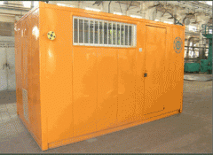 130 and 200 kW container furnace KP (Modular