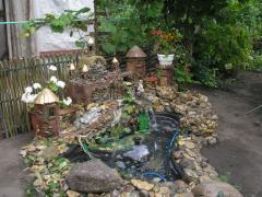 Декоративные  фонтаны