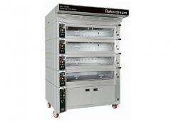 Confectionery oven with stone baking plate