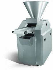 Testodelitel of the vacuum and piston AKT 80T