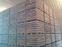 Тара деревянная транспортировочная для овощей и