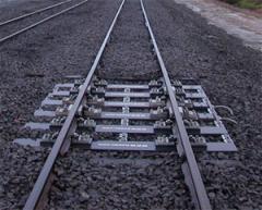 LTS4 kolejowe wagi (do 15 km/h)