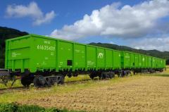 Полувагон модели 12-9745 для перевозки грузов, не