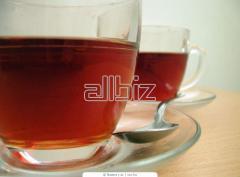 Чай черный байховый фасованный