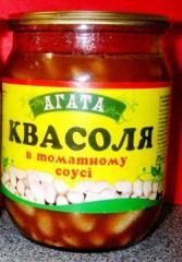 TM AGATA haricot in tomato sauce preserved in