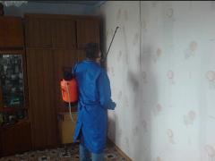 Disinfection of rooms and disinfection of