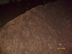 Peat milling for production of briquettes