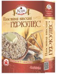 Instant oat flakes Oat-flakes of LLC LTD. DIAMOND