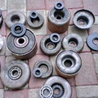Cases of bearings of any standard sizes