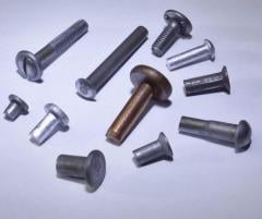 Rivets aluminum Color rivets production sale