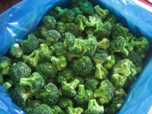 The broccoli, cabbage of broccoli, broccoli frozen