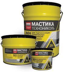 Mastic waterproofing TECHNONIKOL No. 24 of