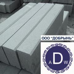 GP-1 border. Gabbro. Price of a granite 300х150