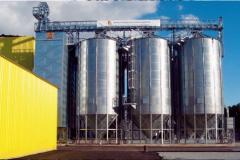 Silos for PETKUS grain