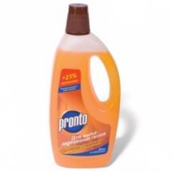 Detergent for wooden floor of Pronto liquid means