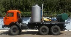 Агрегат для депарафинизации скважин АДПМ - 12/150