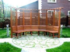 Nábytek dřevěný pro zahrady