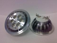 Lamp LED AR111 G53 6kh3vt 2700K 1200lm12v AC/DC