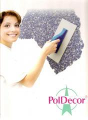 Жидкие обои - декоративное покрытие для стен