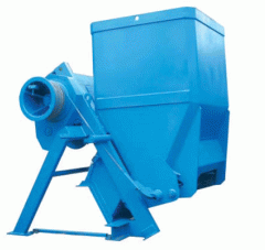 The skip hoist of supply of inert materials in the