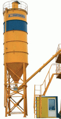 The cement store capacity 50tn for prevention of