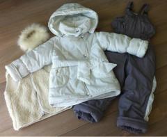 Зимние комплекты из 4-х предметов для девочек от